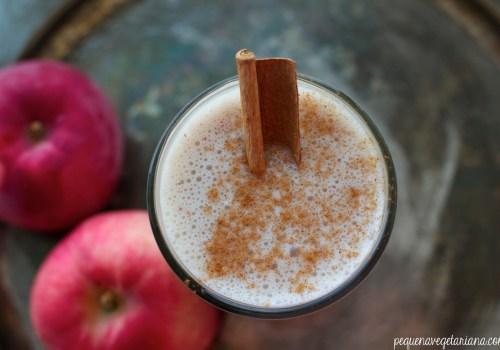 vitamina torta de maçã