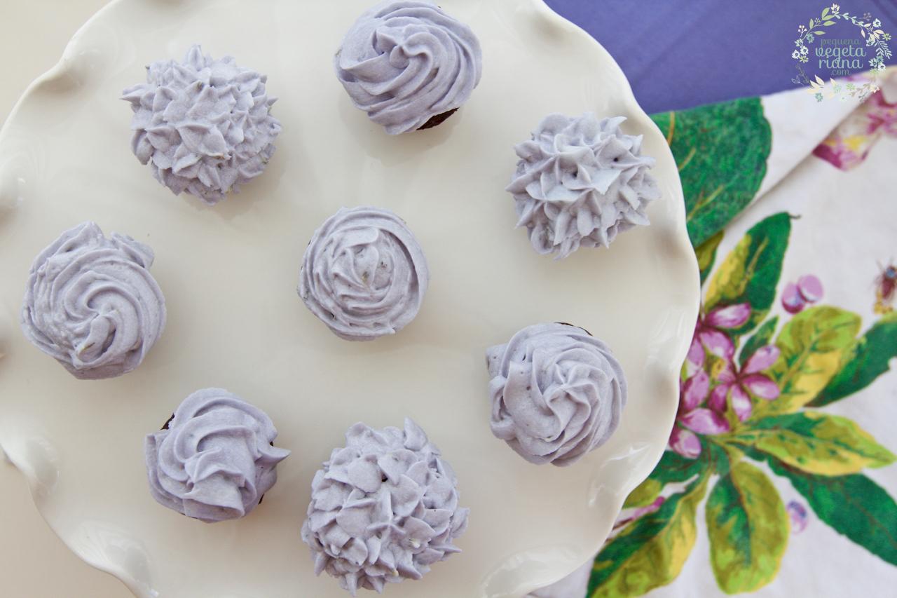 Receita de cupcake de chocolate vegan