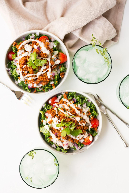 Salada de Taco Raw e Vegana, salada, vegano, taco, pequena vegetariana, ana tavares, receitas vegetarianas