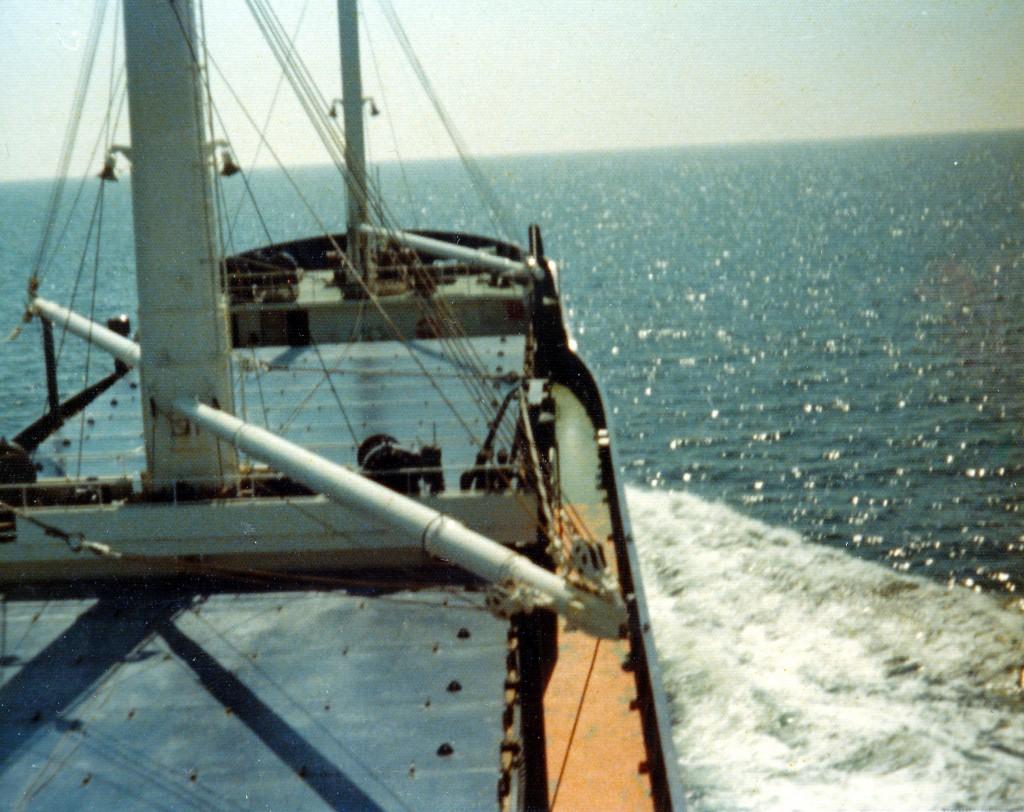 Scannet fra gamle bilder tatt med et Kodak Instamatic-kamera som brukte 110-film. Fra Østersjøen på midten av 70-tallet