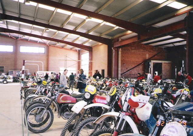 Trobada motos clàssiques 2002
