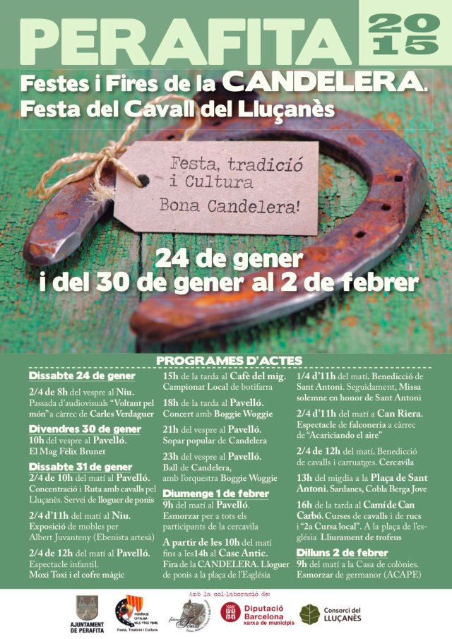 Programa d'actes Candelera 2015