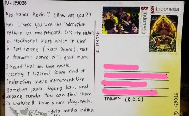 Terkini Contoh Postcard Tentang Liburan Dalam Bahasa Inggris Dan Artinya