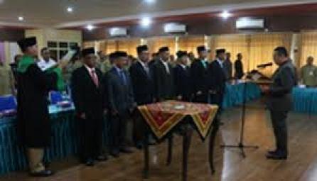 Bupati Situbondo Lantik 7 Pejabat Pratama Hasil Lelang