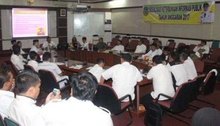 Pemda Subang Sosialisasikan KIP Kepada Para Kepala Desa