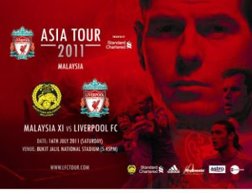 Liverpool Berkunjung Ke Malaysia Bulan Depan