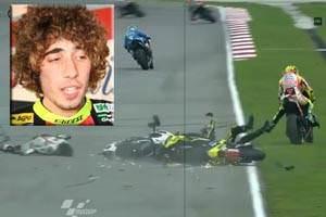 Pelumba Honda mati akibat terjatuh di Litar Sepang