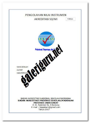 Bukti Fisik Akreditasi SMP MTs 2018: Contoh Laporan EDS SMP...