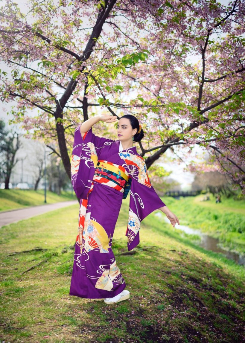 Kimono portrait by Todd Fong Photography