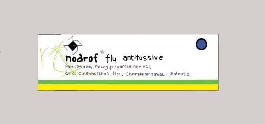 Nodrof flu antitussive laplet