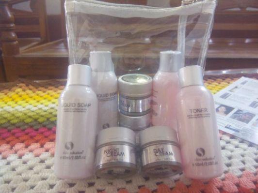 Perawatan Kulit Wajah Whitening Treatment Package Medium Skin Solution