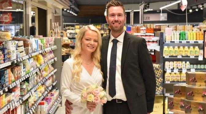 Ny type PR-stunt: Gift i supermarkedet