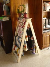 quilt rack | Percales quilts