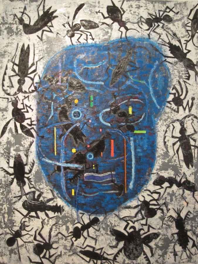 Zlatko Keser - Strepnja (Preobražaj bolesnog uma), 2013.