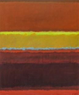 Narančasti, žuti i crveni krajolik, 2009.