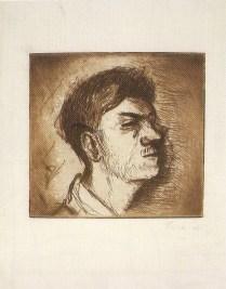 Autoportret, 1940.