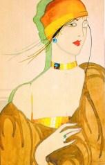 Dama sa monoklom, 1927.