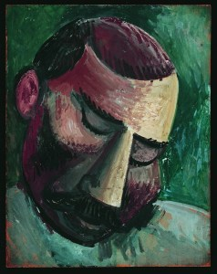 Glava muškarca, Pariz, jesen 1908.