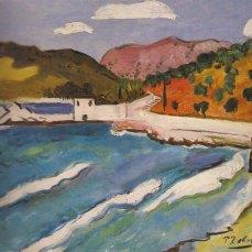 Petar Dobrović - Stara ruševina u Mlinima, 1931.