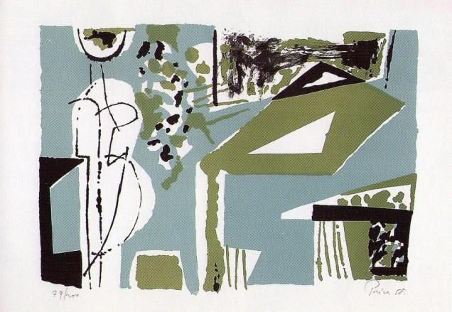 Stol u zelenom prostoru, 1958.