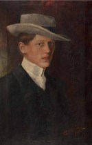 Autoportret, 1905.