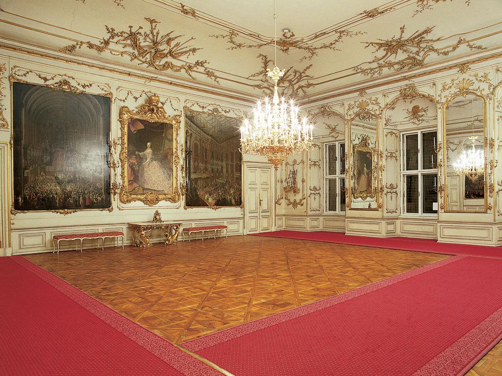 Dvorana za svečanosti / copyright: Schloss Schönbrunn Kultur- und Betriebsges.m.b.H.