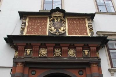 Schweizertor, renesansne dveri iz XVI. stoljeća