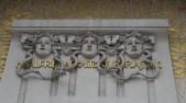 Paviljon secesije - Gorgone (detalj)