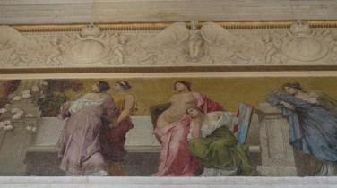 Parlament - freske (detalj)