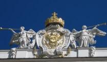 Reichkanzleitrakt, Hofburg (detalj)