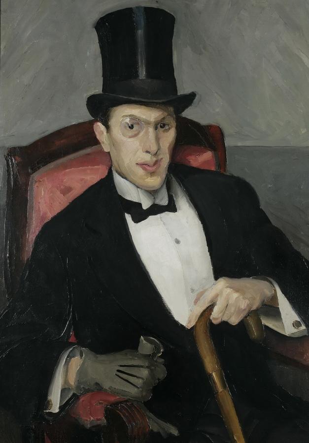 Bonvivant (Portret Ante Masovčića), 1912.