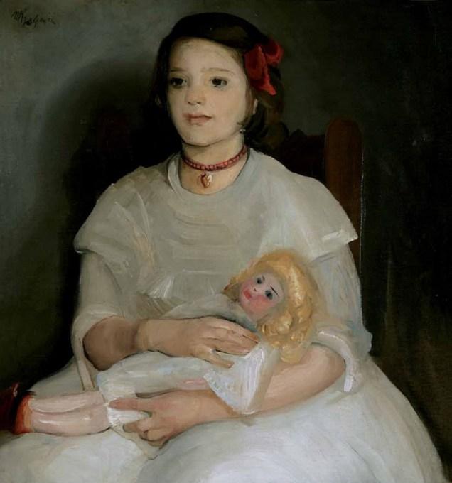 Mala s bebom, 1911.