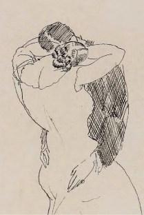 Zagrljaj, 1912. (detalj)