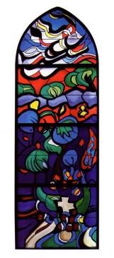 Vitraj za crkvu sv. Ante, Bistrik
