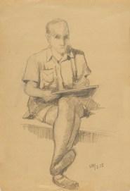 Autoportret, 1956.