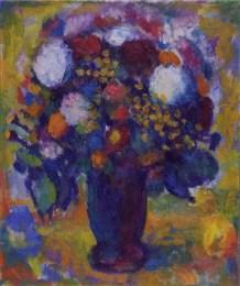 Buket s dvije bijele ruže, 1987.