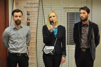 Govor na otvorenju izložbe, foto: Emil Fuš