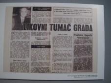 Likovni tumač grada, 1988.
