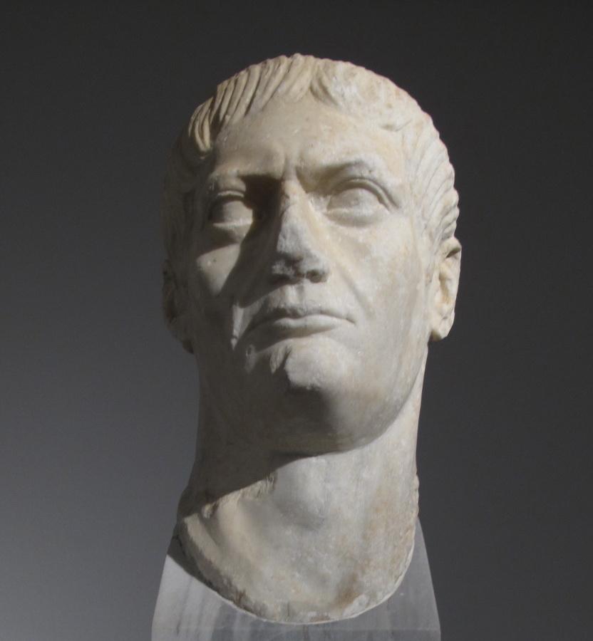Portret cara Trajana, Vis, poč.2.st.