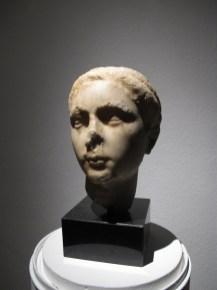 Portretna glava mlade žene (Plautila), Salona, poč.3.st.