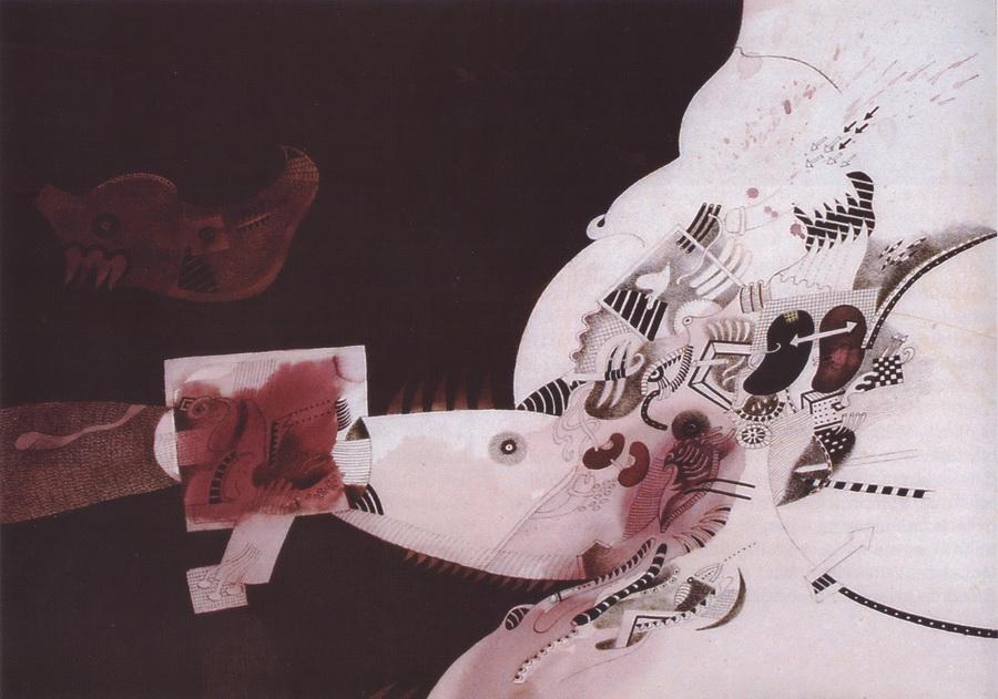 Mehmed Zaimović - Iz ciklusa Bol, 1994.