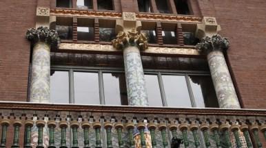 Palau de la Música Catalana - detalj