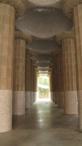 Park Güell - hipostilna dvorana
