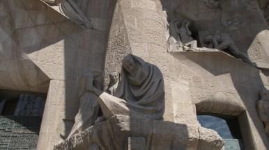 Sagrada Família - pročelje Muke Isusove - detalj