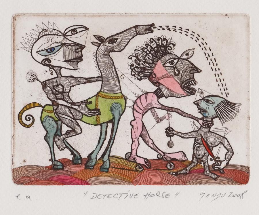 Sandu, Adrian Arad, Rumunjska, Detective horse