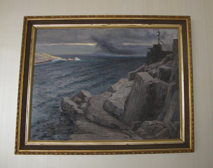 Menci Klement Crnčić - Svjetionik, 1904.