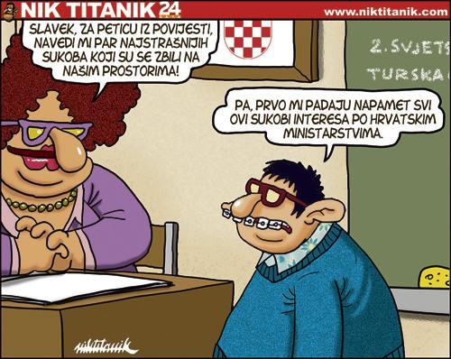 Karikatura by Nik Titanik