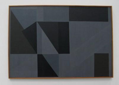 Kompozicija II, 1957, ulje na platnu