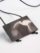 Lidija Jasnić - Ibis - hommage á Champollion ogrlica (srebro, željezo), foto: Mario Majcan