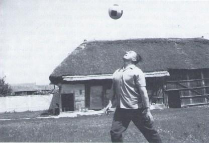Ivan Generalić kao strastveni ljubitelj nogometa